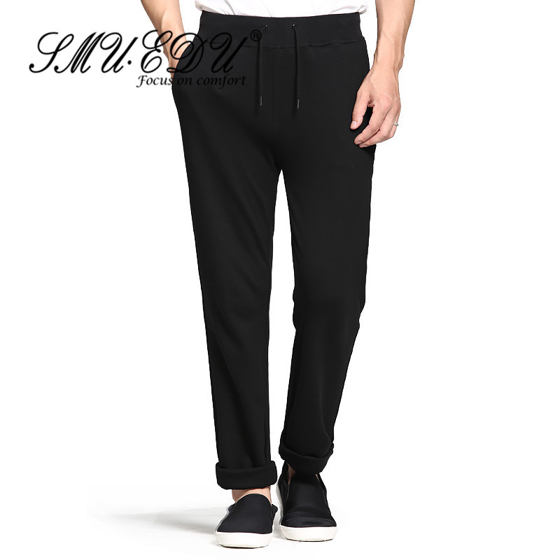 New men's summer fashion trend personality SMUEDU2016 comfort stretch trousers casual pants 4223 students