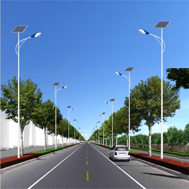 New rural solar street lights road lights outdoor waterproof garden lights led street light pole 4 m 5 m 6 m Lamps