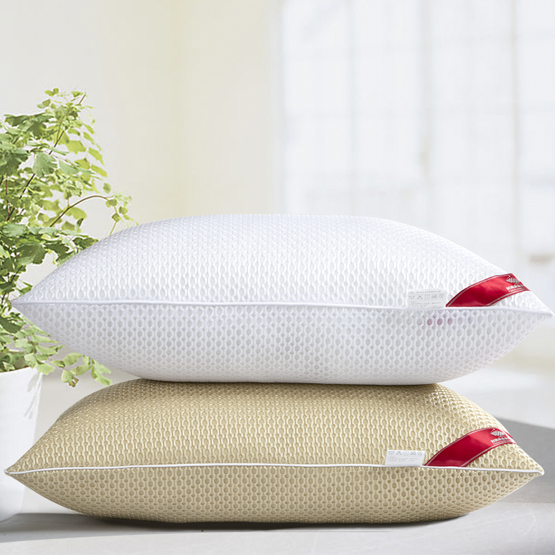 New star hotels pillow single student pillow one pair of washable velvet feather pillow breathable pillow specials