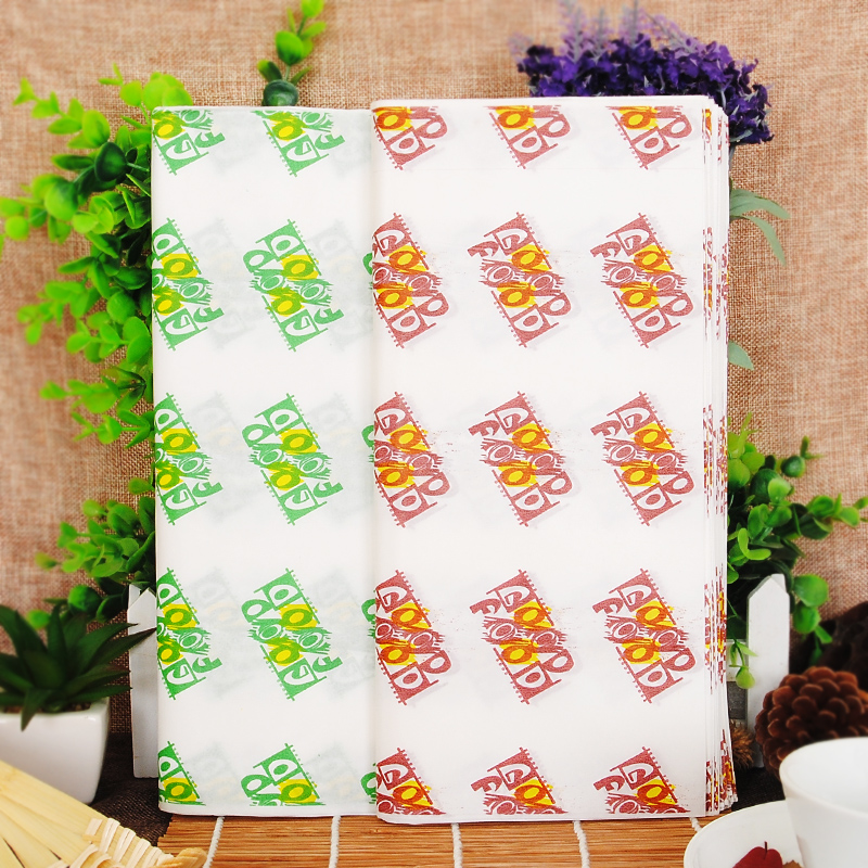 New year mita kfc burger wrapping paper greaseproof paper coated paper letters hamburg paper 80 zhang 0.32
