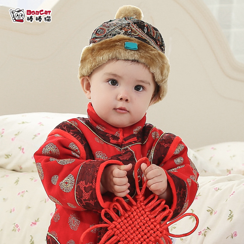 3cb87210c3e Get Quotations · New year new year chinese new year costume hat female baby  boy baby girl costume hat