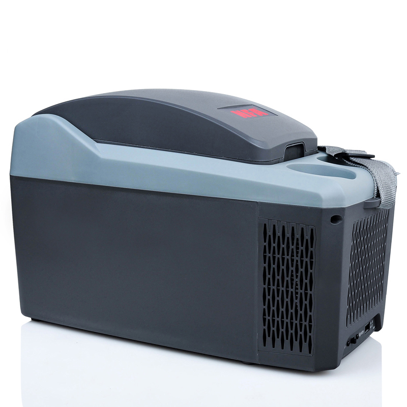 Nfa niufukesi 10l portable heating and cooling box car car home dual refrigeration heating steam car mini fridge