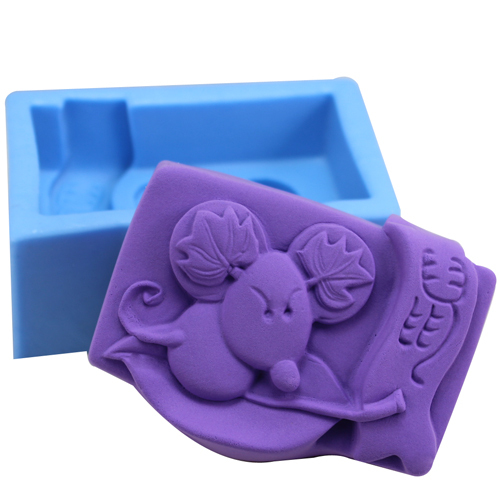 Nicole R0912 twelve zodiac-rat soap silicone soap mold soap mold handmade oil soap mold cake mold