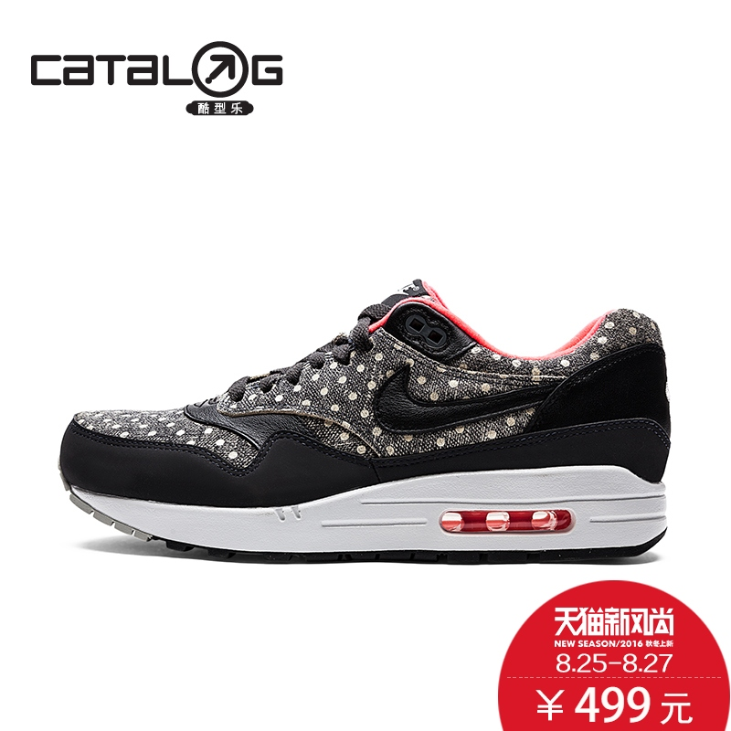 online store 21269 7e41e Get Quotations · Nike nike increased men s running shoes trend polka dot printing  air cushioning running shoes air