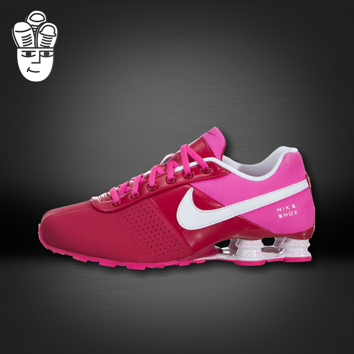 best service 97e88 e5823 Get Quotations · Nike nike shox pnt deliver high column gs men and women  running shoes casual shoes