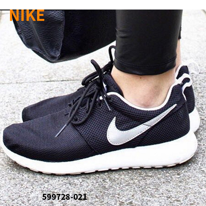 e41b4c5bad Get Quotations · Nike shoes nike roshe one black and white oreo 2016 autumn  casual running shoes 599728