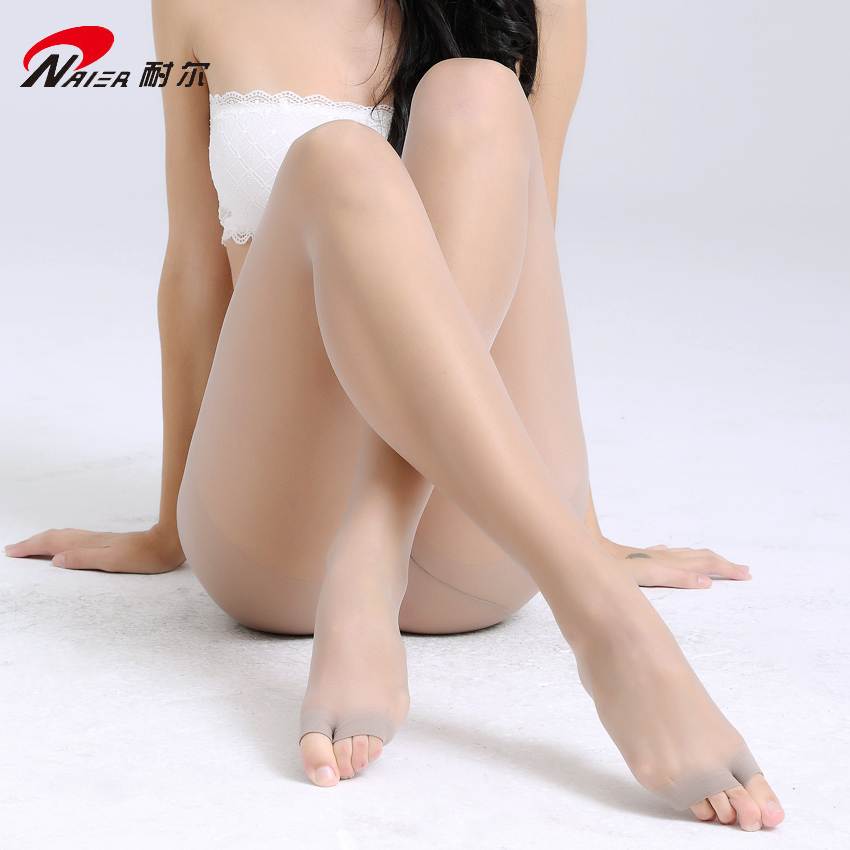 b7a82a09dd400 Get Quotations · Nile upshift after slim toe pantyhose 12d cored wire spring  and summer fish head socks and