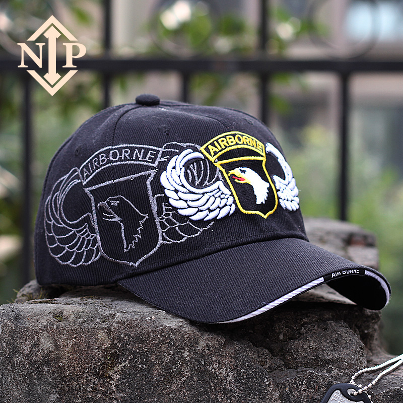 0ae56b11 Get Quotations · Nip military style 101 american airborne division army  fans outdoor men and women tactical baseball cap