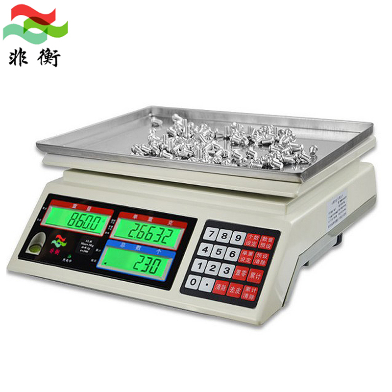 Non heng industrial counting scales 3/6/15/30 kg electronic scales electronic scales g sampling scales electronic scales 0.01g