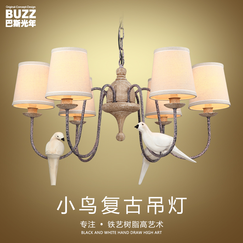 China bird nest chandelier china bird nest chandelier shopping get quotations nordic american country pastoral chandelier wrought iron chandelier living room dining room minimalist bird chandelier creative mozeypictures Images