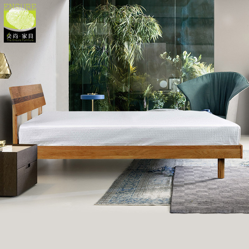 Get Ations Nordic Ikea Oak Solid Wood Bed 1 8 Minimalist Anese Style 5 M Double