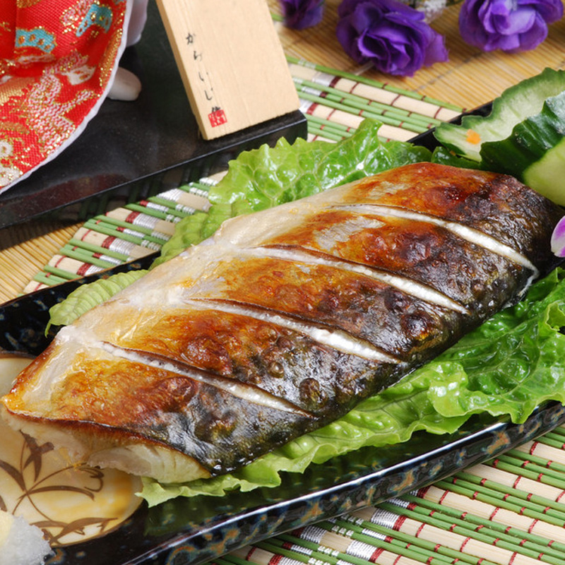 Norwegian mackerel liu large fresh frozen fish delicious grilled mackerel mackerel fish 230g/tablets