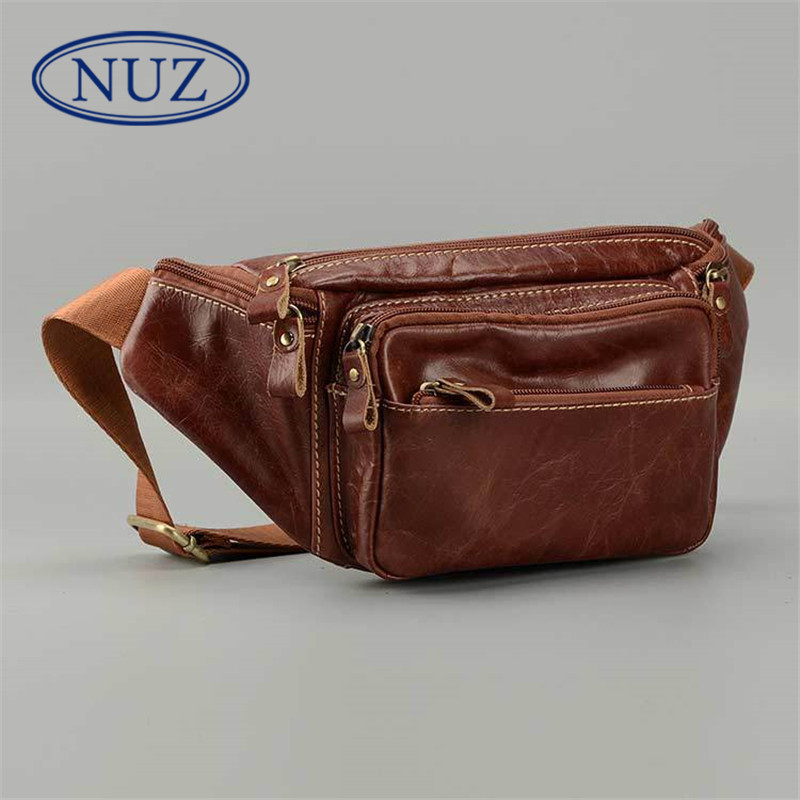 Nuz trend of solid color over 2016 brand hong kong men multifunction pockets leather purse mini bag 6218