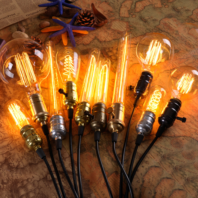 Octave loft edison light bulb creative personality retro chandelier light bulb incandescent light bulbs creative