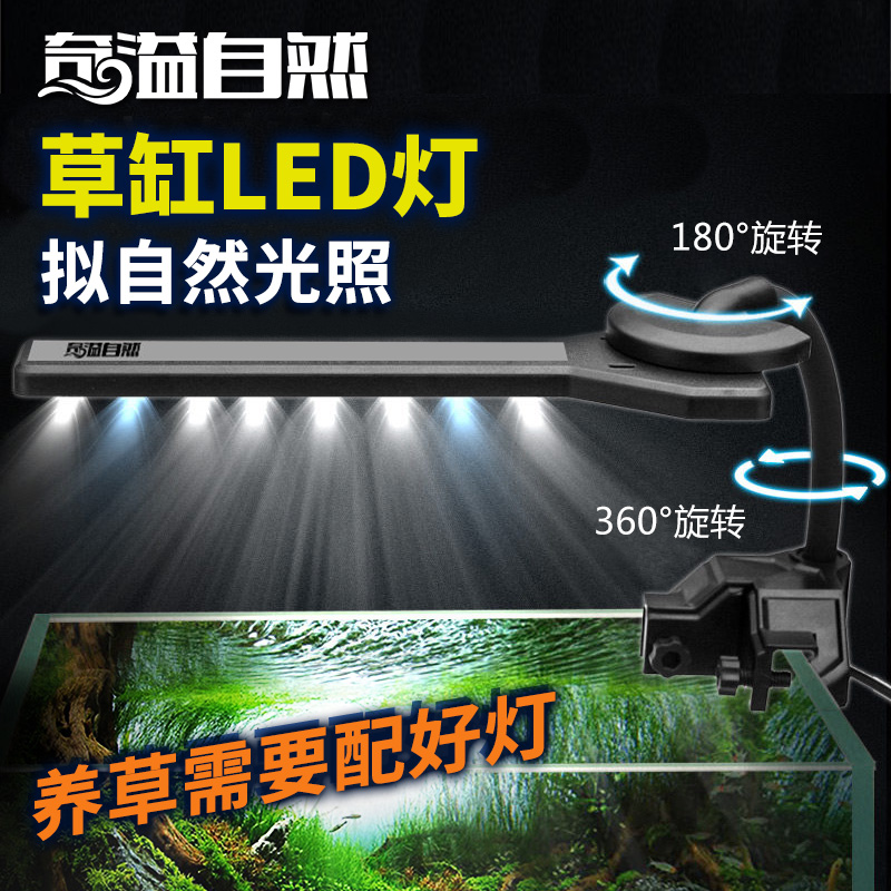 Odd spill natural ecological aquarium plants aquarium lights aquarium plants aquarium plants aquarium lighthouse lamp clip lamp led lamp