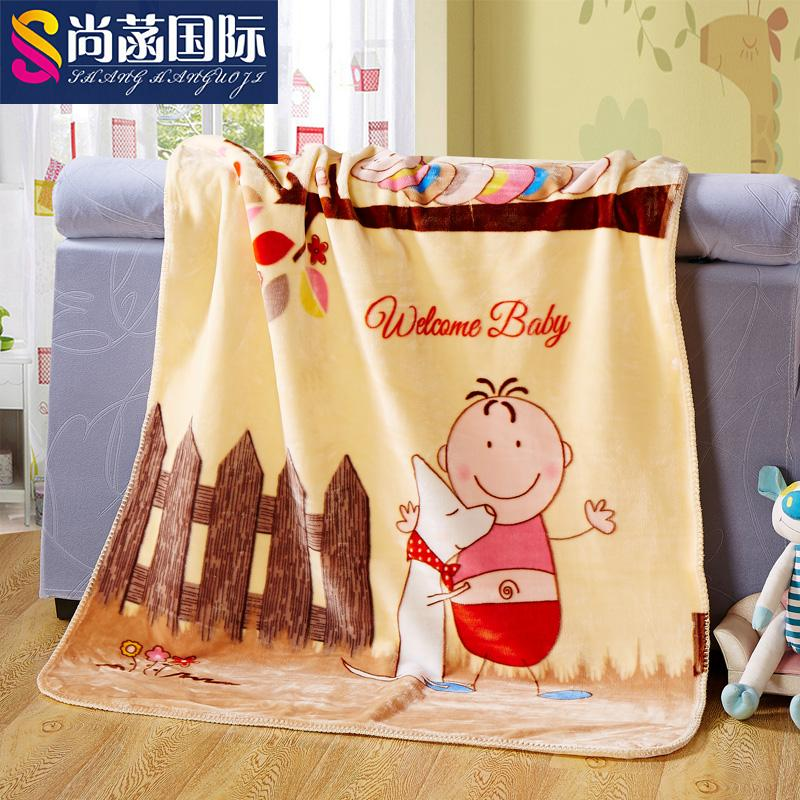 Office cartoon coral fleece blanket blankets double thick blanket child blanket baby blanket air conditioning nap blanket