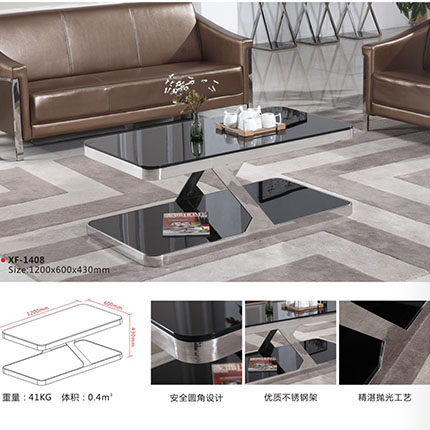 Office coffee table coffee table stainless steel herculite manager reception room coffee table sofa coffee table parlor room double room coffee table coffee table