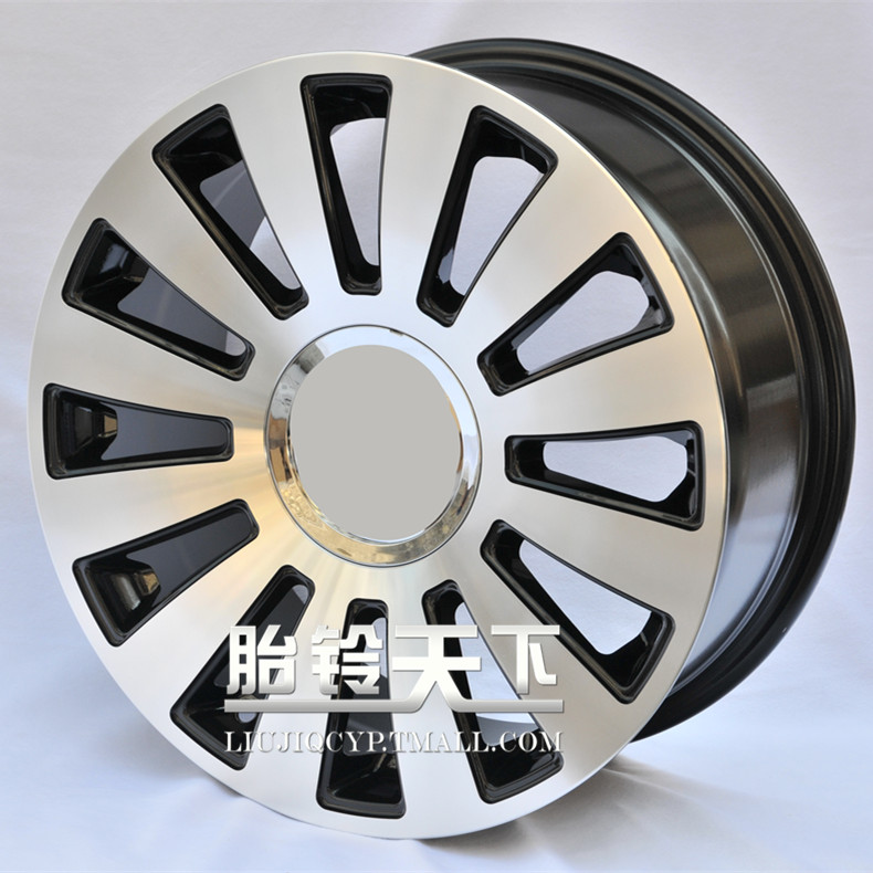 Ofradially pieces modified alloy wheels rims 17 inch gun gray car surfaces