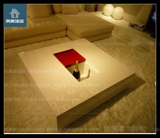 Ogilvy reddy paint coffee table modern minimalist fashion coffee table coffee table modern minimalist white paint coffee table coffee table custom