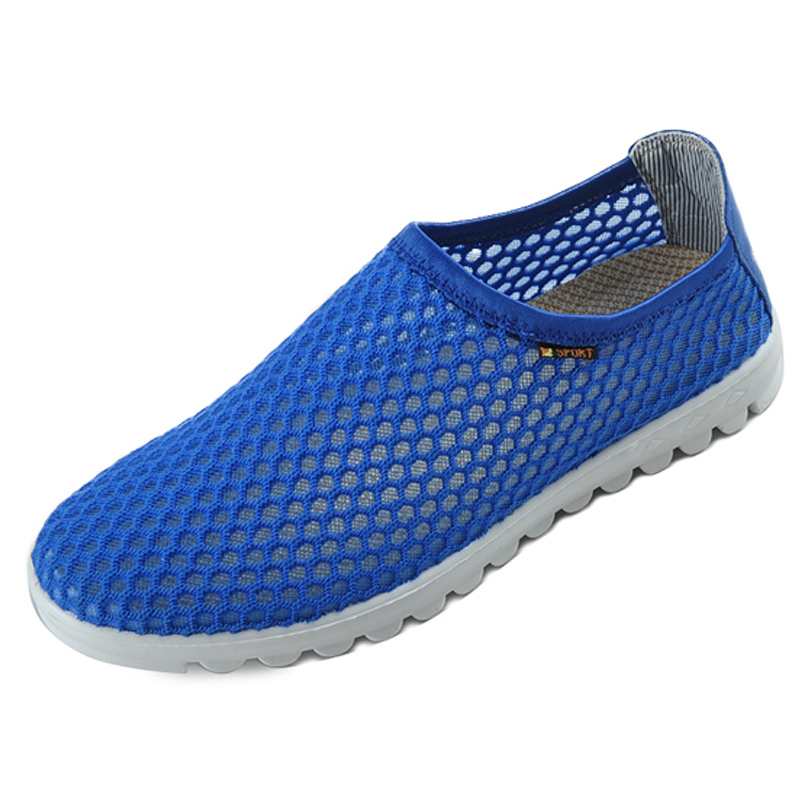 Old beijing cloth shoes summer mesh breathable mesh shoes men's casual shoes running shoes mesh shoes 35129
