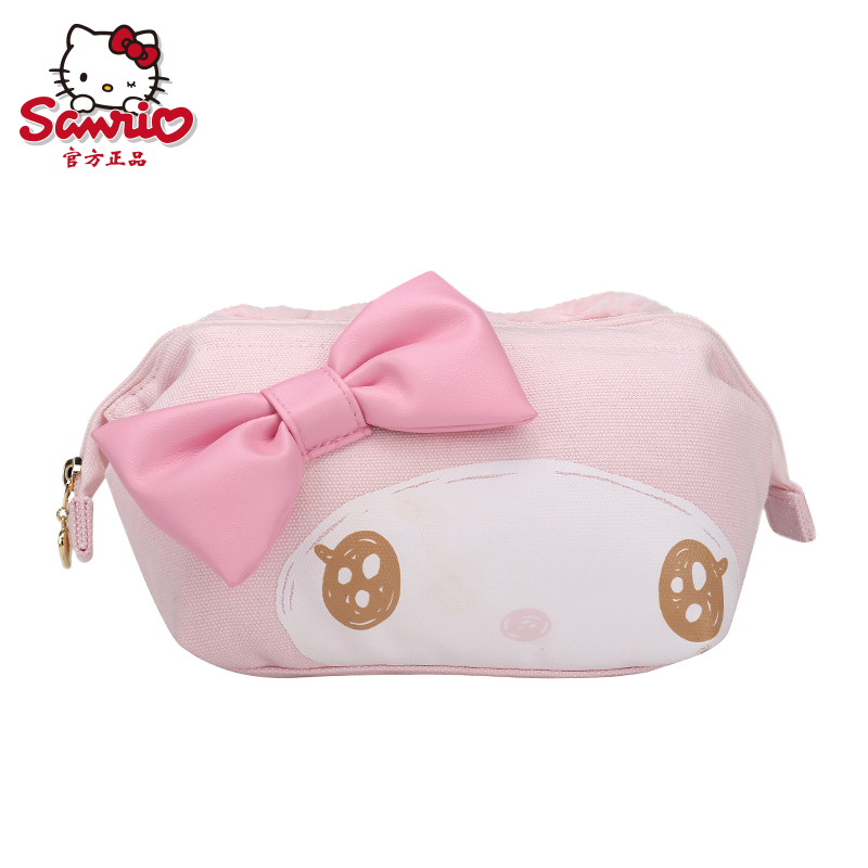 On 2016 the new my melody melody small cosmetic bag holding a small bag cartoon plush purse