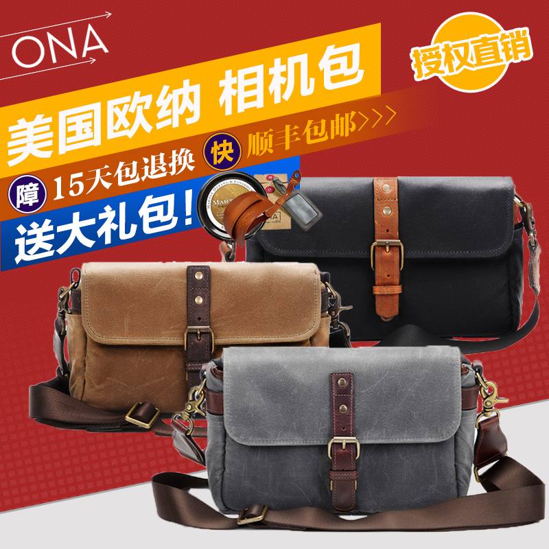 Ona the bowery leica single micro camera bag canvas shoulder camera bag authentic retro shoulder bag