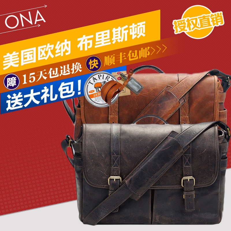 Ona the leather brixton retro leather shoulder camera bag camera bag limited edition authentic spot