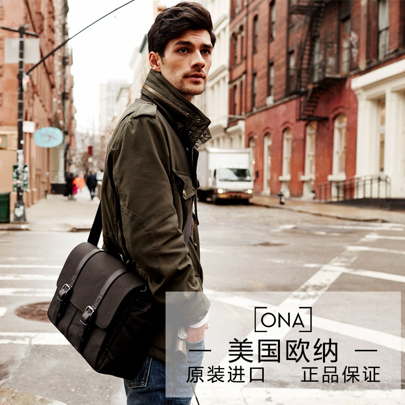 Ona the nylon brixton diagonal shoulder camera bag camera bag retro canvas hand bag new