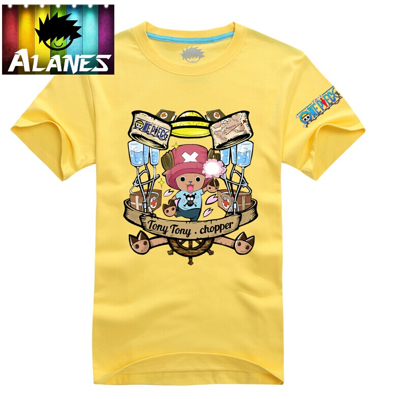 One piece one piece t-shirt short sleeve t-shirt lovers fawn ambassador ciobanu ambassador ciobanu totem men short sleeve t-shirt cotton t-shirt