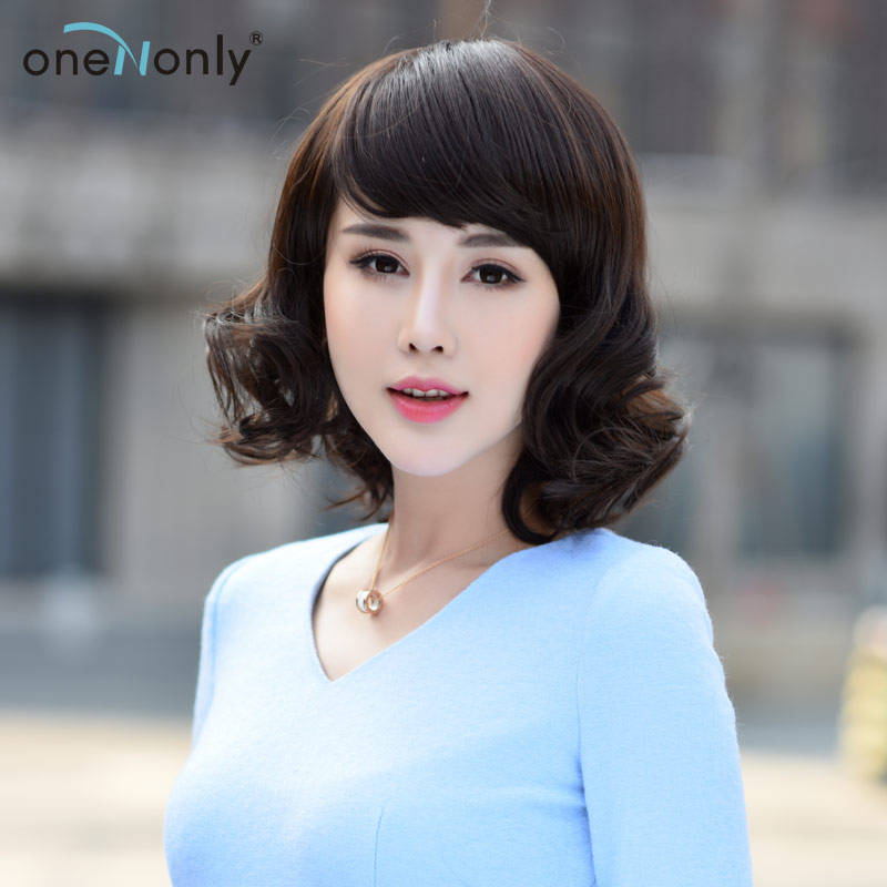 Only iraqi new full hand woven ms. realistic long curly hair qi liu real hair wig big waves roll