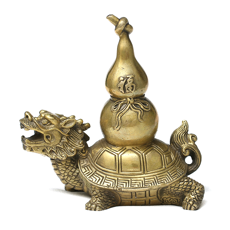 Open light copper dragon turtle turtle ornaments fluke gourd guard paul turtle bonhams turtle ornaments wenchang