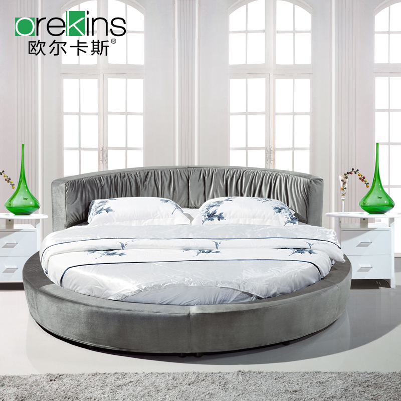 Orr fidel roolls package logistics washable cloth round bed round bed cloth fabric bed double bed small apartment