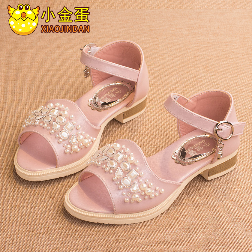 Oscars egg girls sandals children sandals korean girls princess shoes and women's shoes 2016 summer new