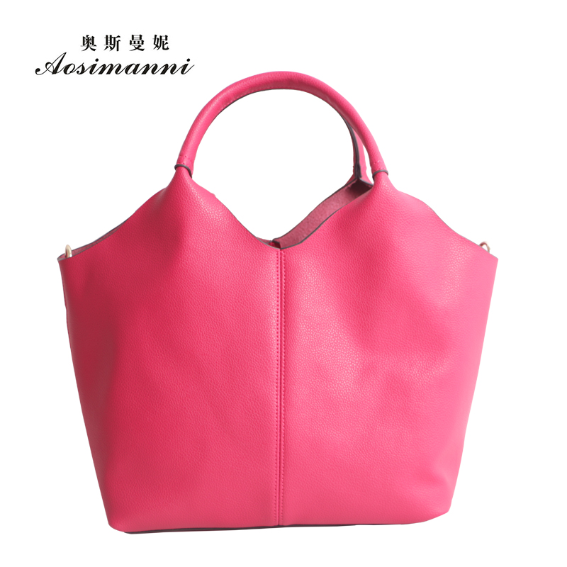 Osmund borderies picture header layer of leather handbags new leather simple models leather handbags hand diagonal package
