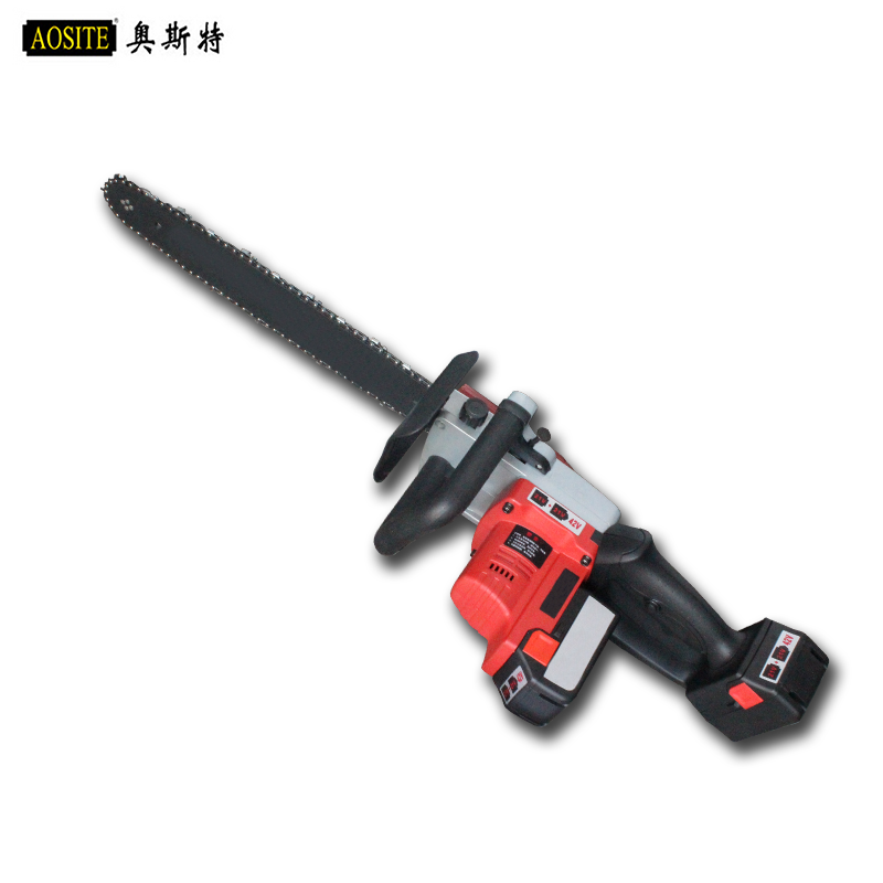Oster lithium battery lithium battery electric chain saw chain saws electric chain saw logging saws outdoor carpentry chainsaw chainsaw
