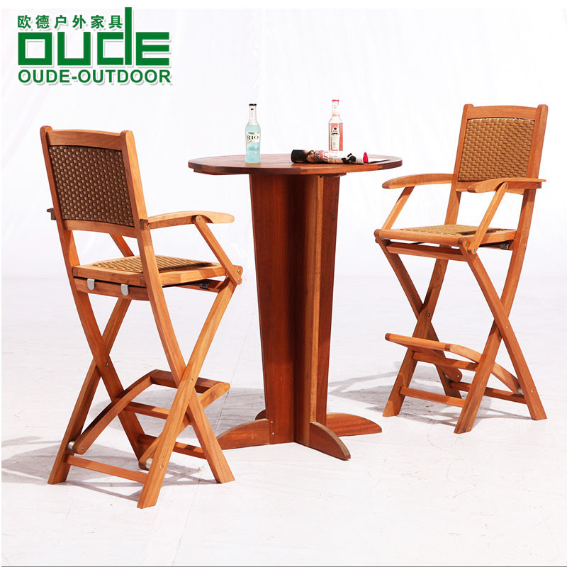 Elegant Get Quotations · Oude bar red cherry wood furniture solid wood tables and chairs for outdoor terrace tall bar Minimalist - Beautiful folding bar table Plan