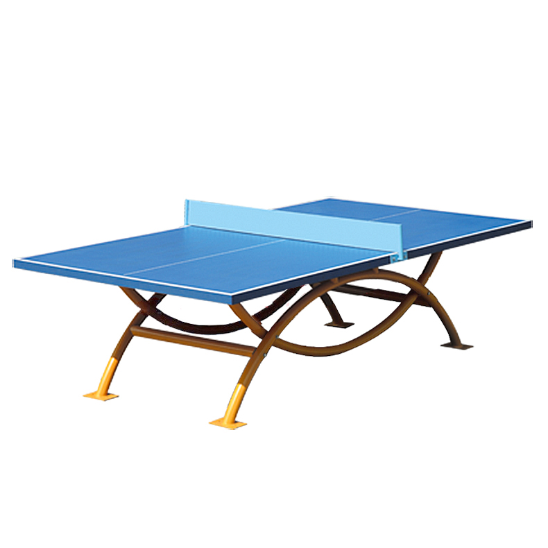 Outdoor table tennis table dhs waterproof outdoor table tennis table ot8686 arched rainbow table tennis table