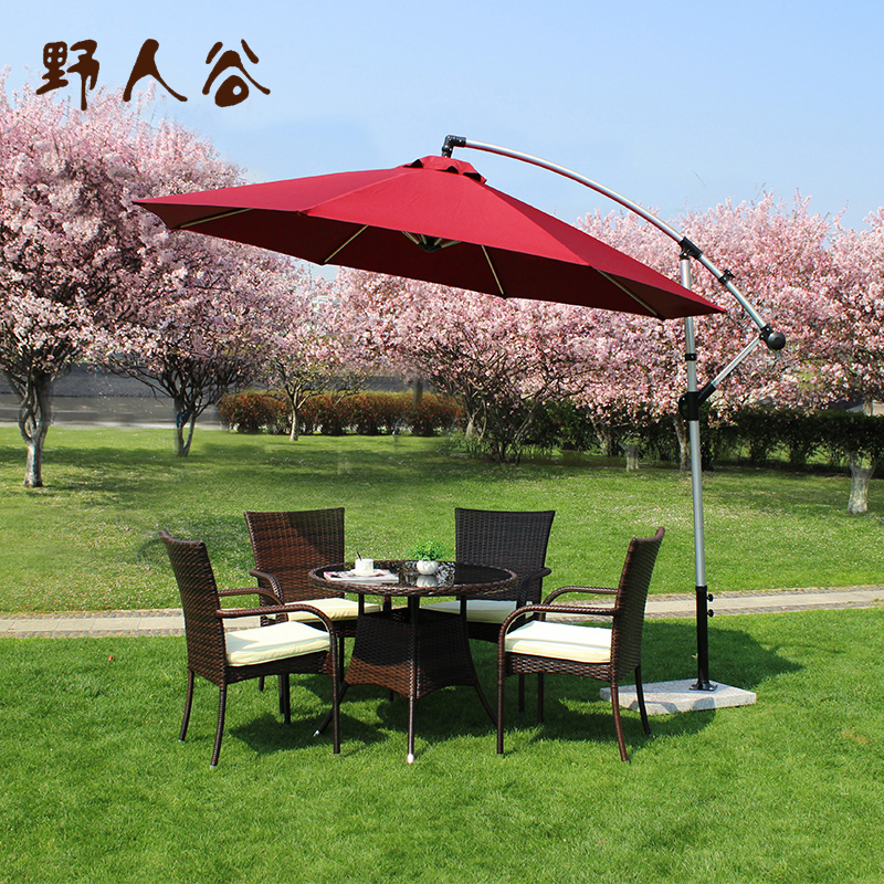 Outdoor tables and chairs combination of casual rattan chair rattan chair rattan chairs balcony patio outdoor furniture suite three wujiantao