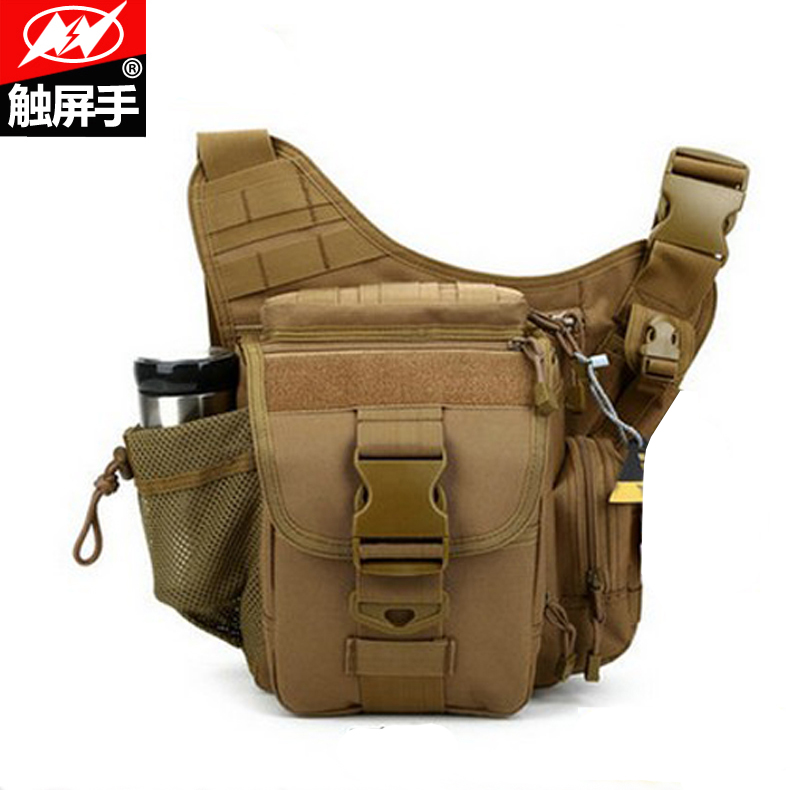 Outdoor tactical military fans tactical versatility saddle bag shoulder bag sports camouflage backpack camera bag men and women boarding