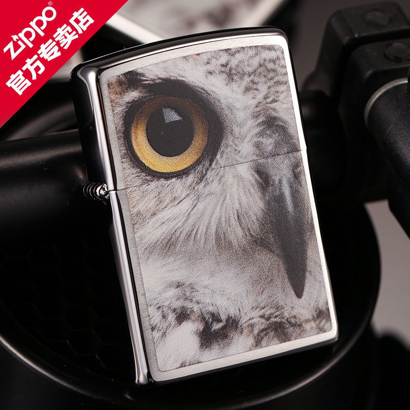Owl american original genuine zippo lighter windproof zippo limited edition genuine flagship store for men
