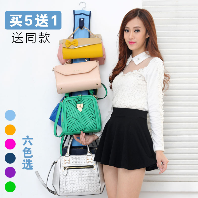Oxford cloth bag cloth pouch wardrobe closet door hang the bag wall finishing bag leather bag scarf
