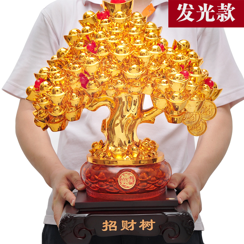 Pachira tree ornaments lucky tree moneymaker new living room opening move business gifts office entrance
