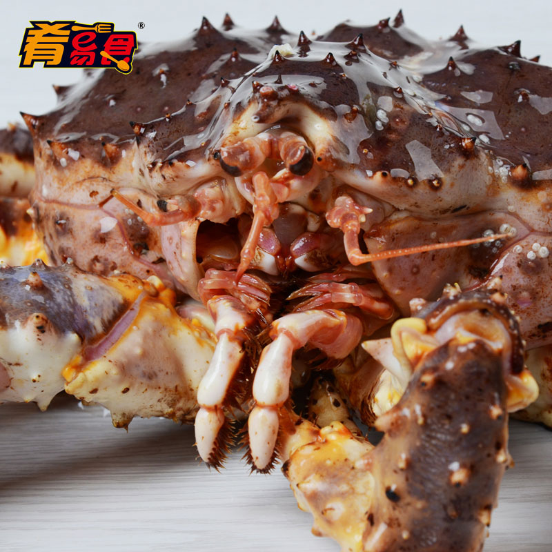 [Package] easy to eat meat dish of imports of fresh king crab 2000g imported seafood fresh crab crab