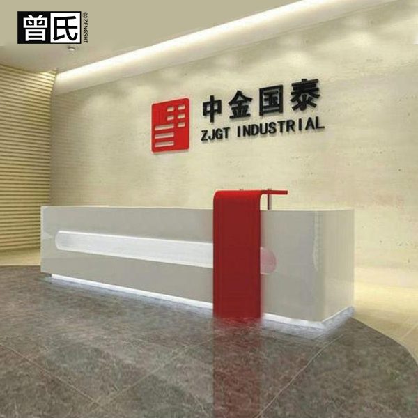 Paint company front desk reception desk reception desk fashion welcome reception desk cashier desk custom made