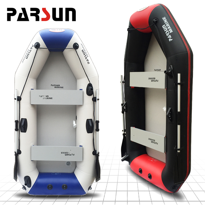 Parsun yum boat inflatables kayak fishing boat inflatable boat assault boats can hang outboard motor power
