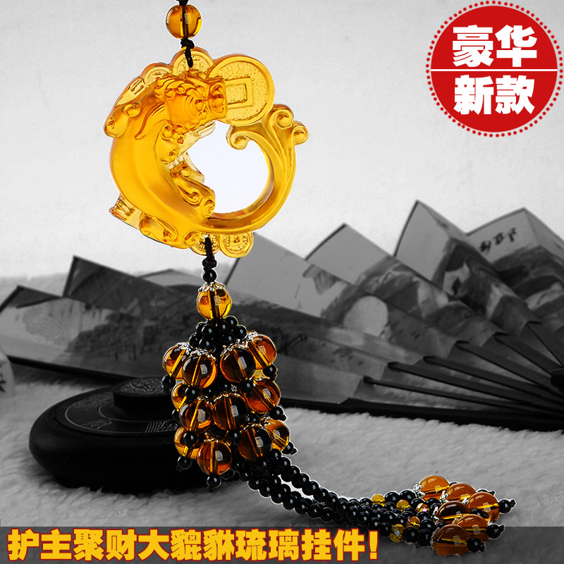 Passers-2015 step car accessories car accessories car ornaments upscale automobile glass ornaments talismans brave primary care