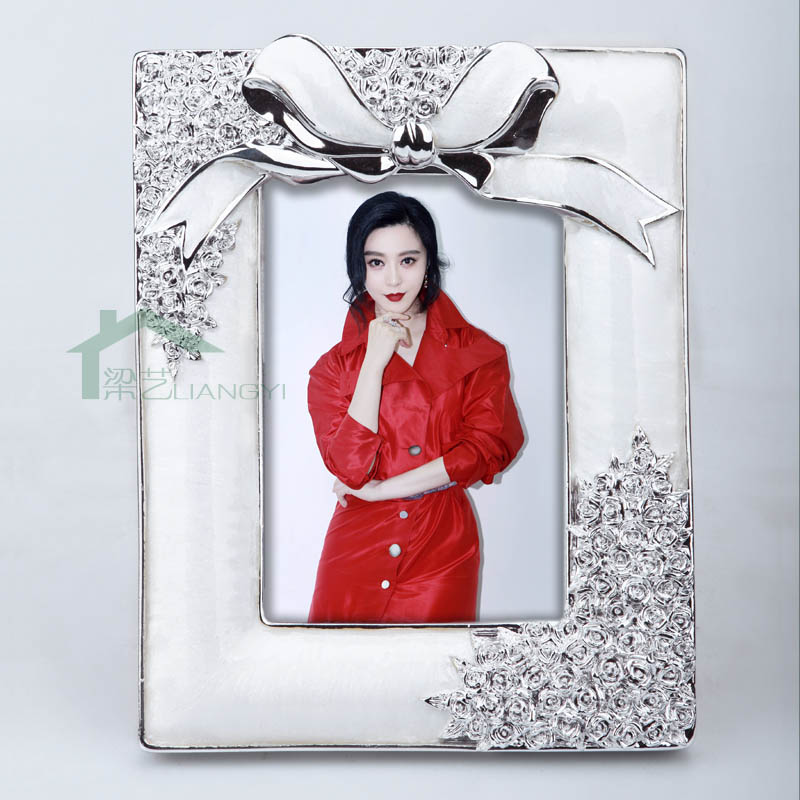 Pastoral resin photo frame swing sets fashion style exquisite small gifts birthday gift box free develop photos to enlarge shipping