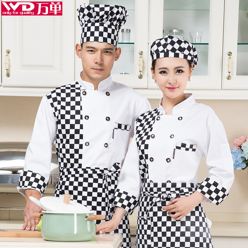 Patisserie chef service hotel chef clothing long sleeve chef work clothing bakery bakers bakers tooling uniforms
