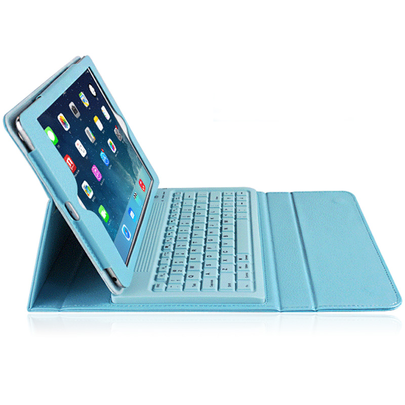 Pbook apple ipad air2 ipad6 air2 protective sleeve with a keyboard wireless bluetooth keyboard leather holster keyboard