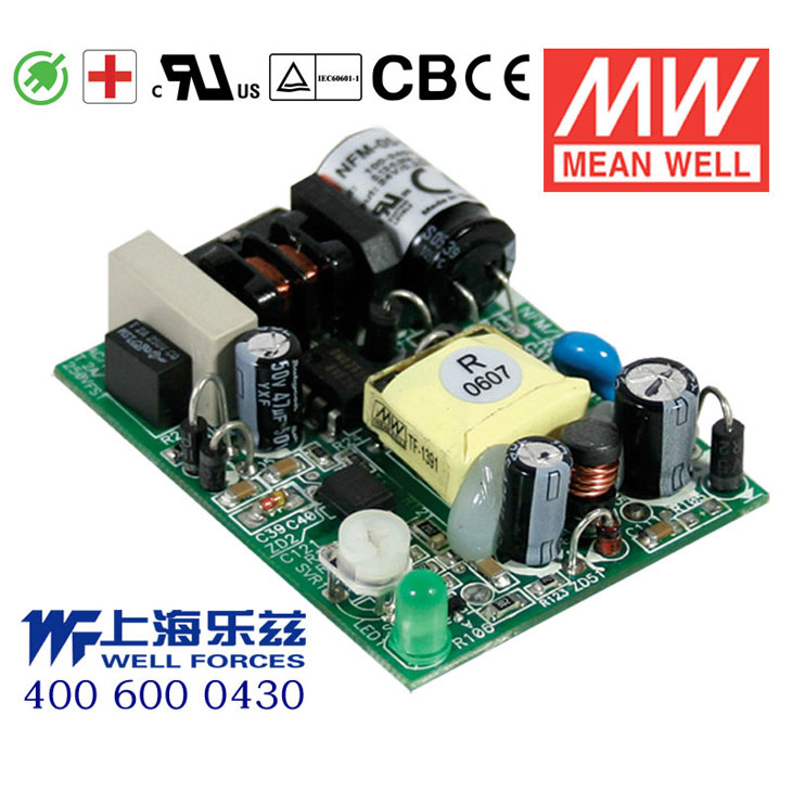 Pcb bare board medical meanwell power supply NFM-05-3.3 5w3. 3v1. 25a [including vat sf]